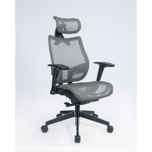 Executive Mesh Office Chairs | Silver Mesh