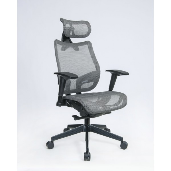 Nice Executive Mesh Office Chairs | Silver Mesh