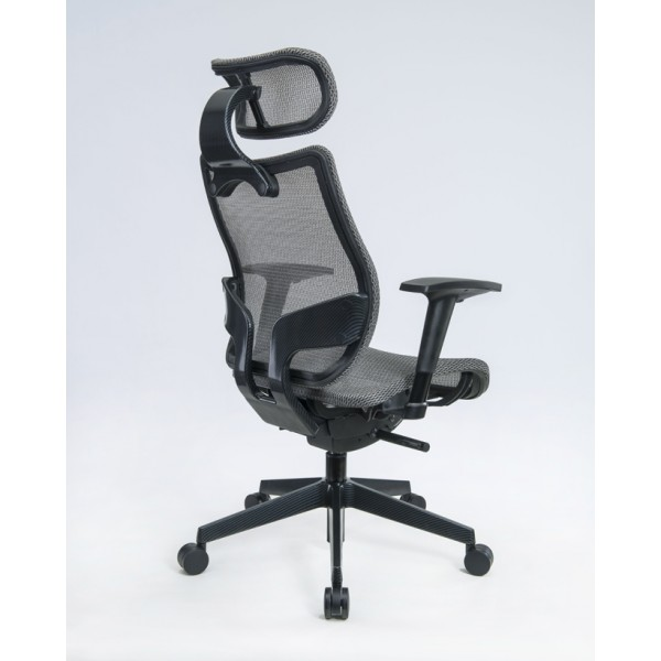 executive mesh office chairs silver mesh
