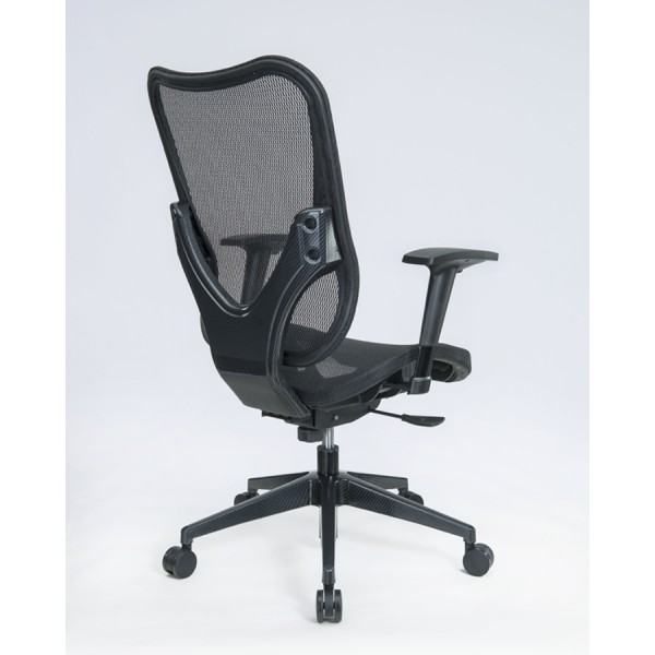 mesh office chairs | black mesh