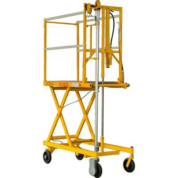 Portable Scaffolding With Wheels : Mobile scaffolding lift